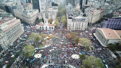 Buenos Aires - Paro General - Fuente foto Tw - Data Urgente