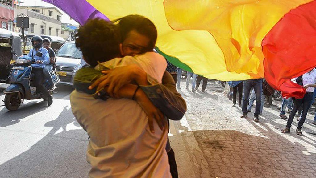 Despenalización de la homosexualidad - La India - Fuente foto web - Data Urgente