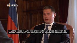 Dmitry Feoktistov - Continentes - Hispan TV - Data Urgente
