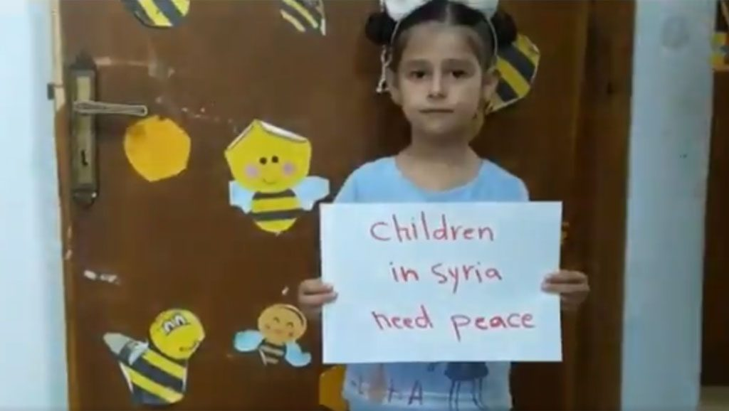 Hala Syri - Foto fuente Twitter - Data Urgente