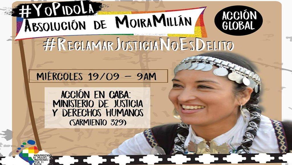 Moira Millán - Acción global - Data Urgente