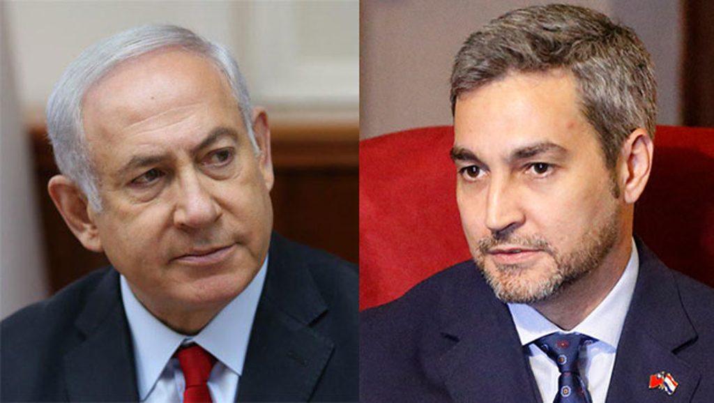 Netanyahu - Abdo Benitez - Fuente foto web - Data Urgente