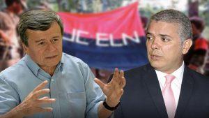 Pablo Beltrán - Iván Duque - Fuente foto web - Data Urgente