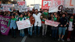 Paro General - Argentina - Fuente foto TW - Data Urgente