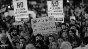Pensiones por discapacidad - Argentina - Fuente foto La Tinta - Data Urgente