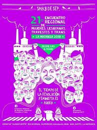 Primer Encuentro Regional de Mujeres, Lesbianas, Travestis y Trans en La Matanza.