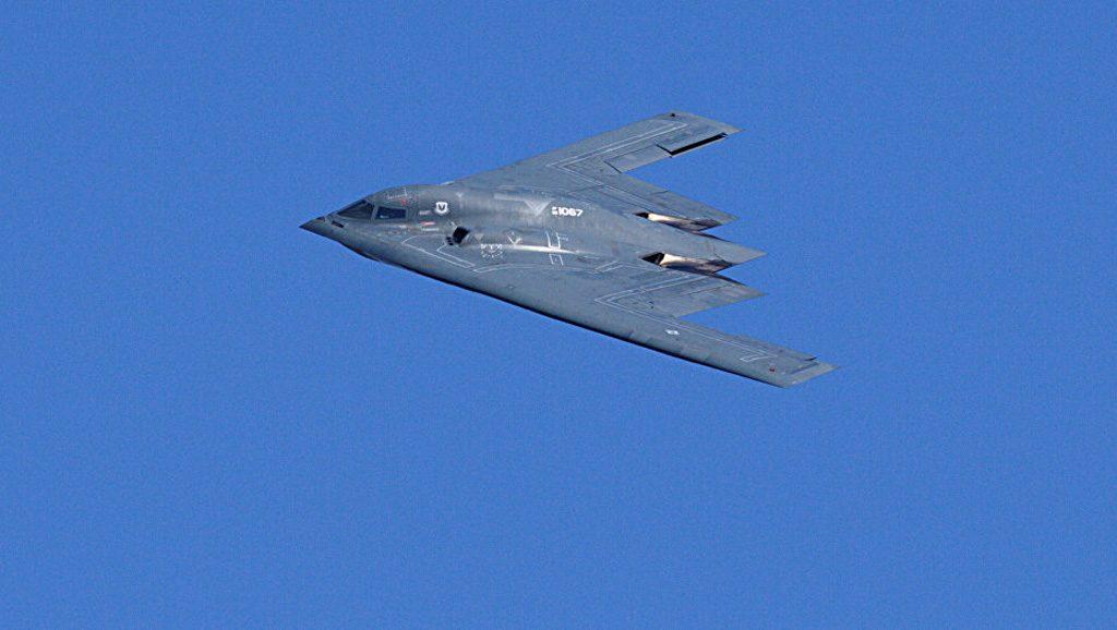 B 2 Spirit - EEUU - Foto fuente Sputnik Mundo - Data Urgente