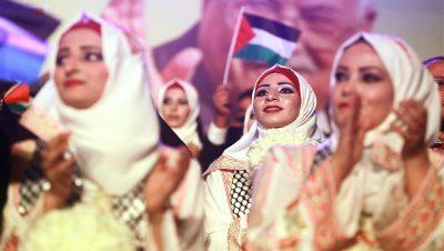 Boda Masiva - Palestina - Abbas - Fuente foto web - Data Urgente