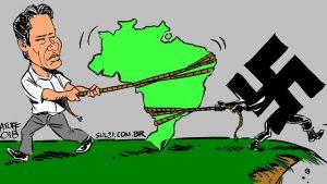 Bolso fascismo - Fuente foto web - Data Urgente