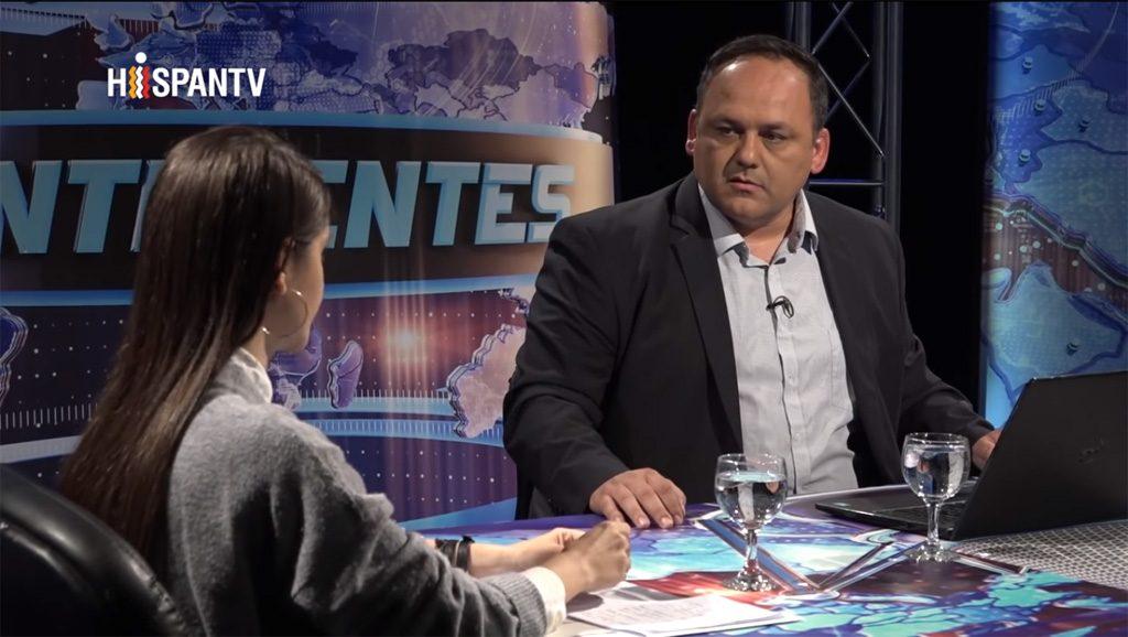 Continentes - Sebastián Salgado - Foto captura Hispan Tv - Data Urgente