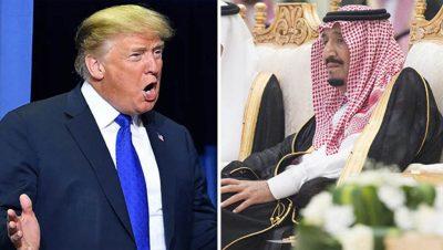 Donald Trump - Salman bin Abdulaziz Al Saud - Fuente web - Data Urgente