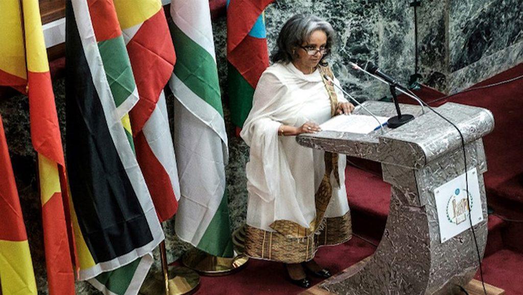 Mujer etiopí - Presidenta - África