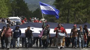 Exilio - Honduras - Fuente foto web - Data Urgente