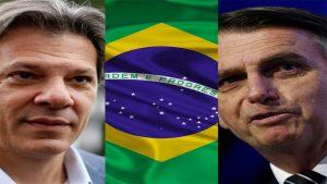 Haddad - Bolsonaro - Fuente foto web - Data Urgente
