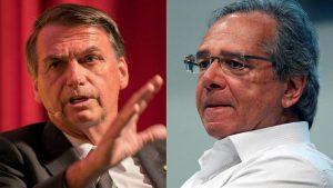 Jair Bolsonaro - Paulo Guedes - Fuente foto web - Data Urgente