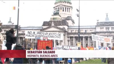 Ley de presupuesto 2019 - Argentina - Fuente Hispan TV - Data Urgente
