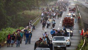 Migración centro americana - Fuente foto Pedro Pardo AFP - Data Urgente