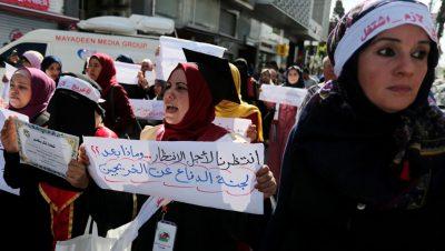 Mujeres universitarias palestinas - Fuente foto ABNA24 - Data Urgente