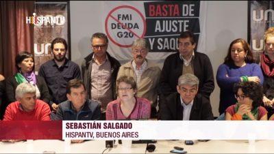 No al G20 - Sebastián Salgado - Hispan TV - Data Urgente