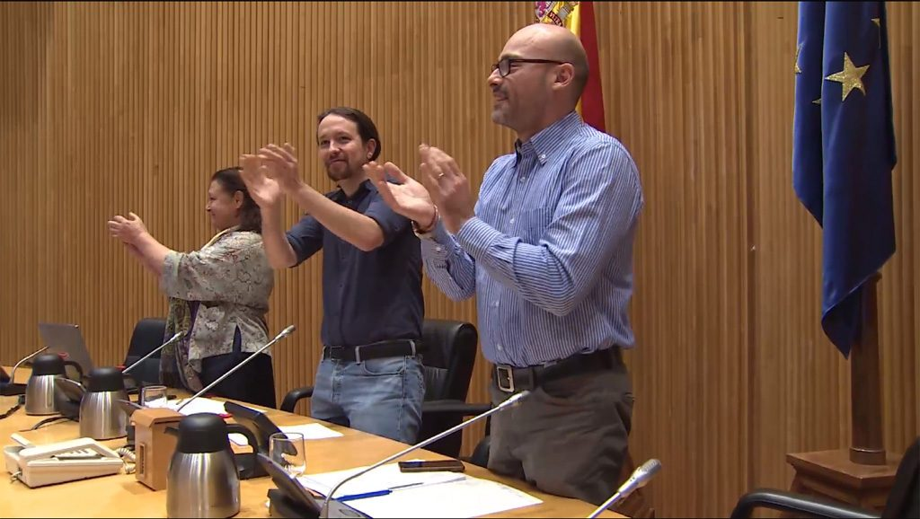 Pablo Iglesias - Cannabis - España - Fuente foto web - Data Urgente