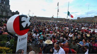 Plaza de las Tres Culturas - Tlatelolco - Fuente web - Data Urgente