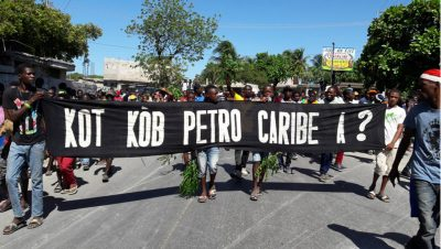 Protestas - Haití - Fuente foto web - Data Urgente