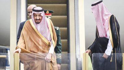 Rey Saudí - Fuente web - Data Urgente