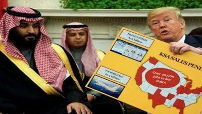 Salman - Trump - EEUU - Arabia Saudí - Fuente foto web - Data Urgente