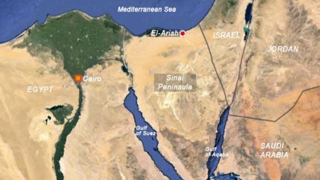 Sinai - Egipto - Desarrollo - Fuente foto web - Data Urgente