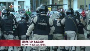 Argentina - Represión - Fuente foto Hispan TV - Data Urgente