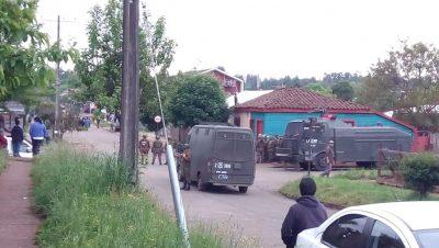 Comando Jungla - Chile - Mapuches - Fuente foto web - Data Urgente