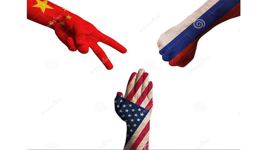 EEUU - Rusia - China