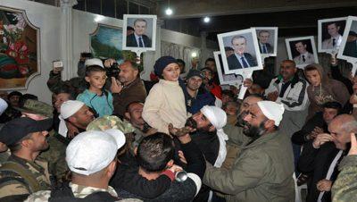 Ejército Sirio - Fuente foto SANA - Data Urgente