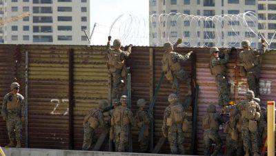 Frontera EEUU México - Fuente foto web - Data Urgente
