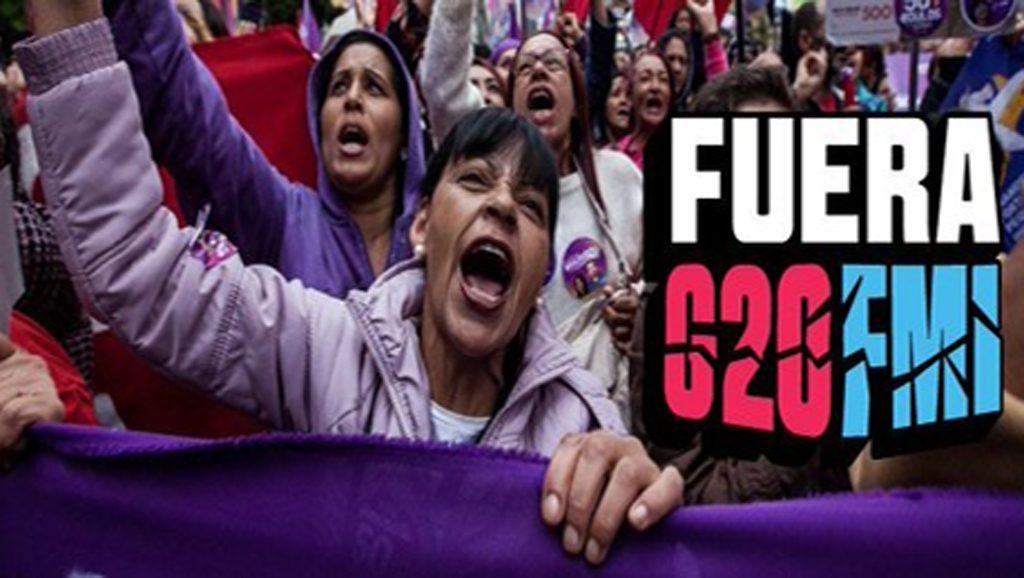 Fuera G20 - Fuente foto web - Data Urgente