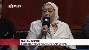 Hebe de Bonafini - Fuente foto Hispan TV - Data Urgente