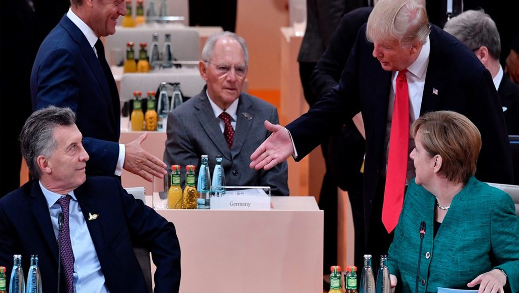 Macri - G20 - Fuente foto web - Data Urgente