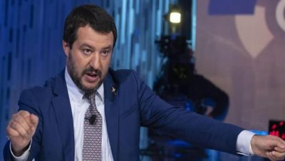 Matteo Salvini - Fuente web - Data Urgente