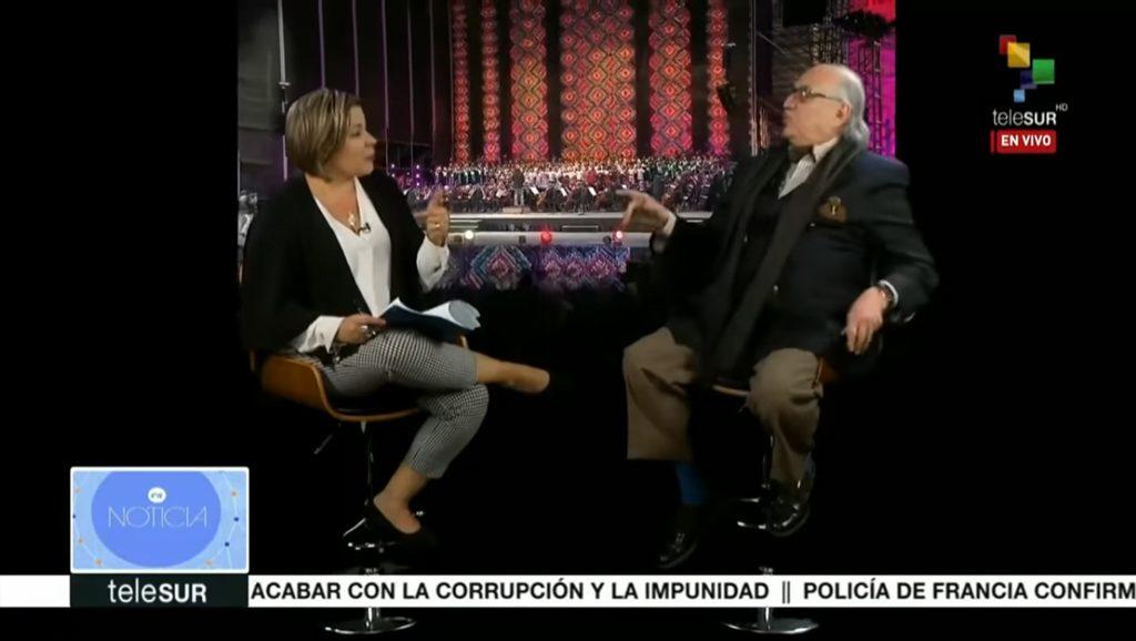 Alfredo Jalife Rahme - Entrevista teleSUR - Data Urgente