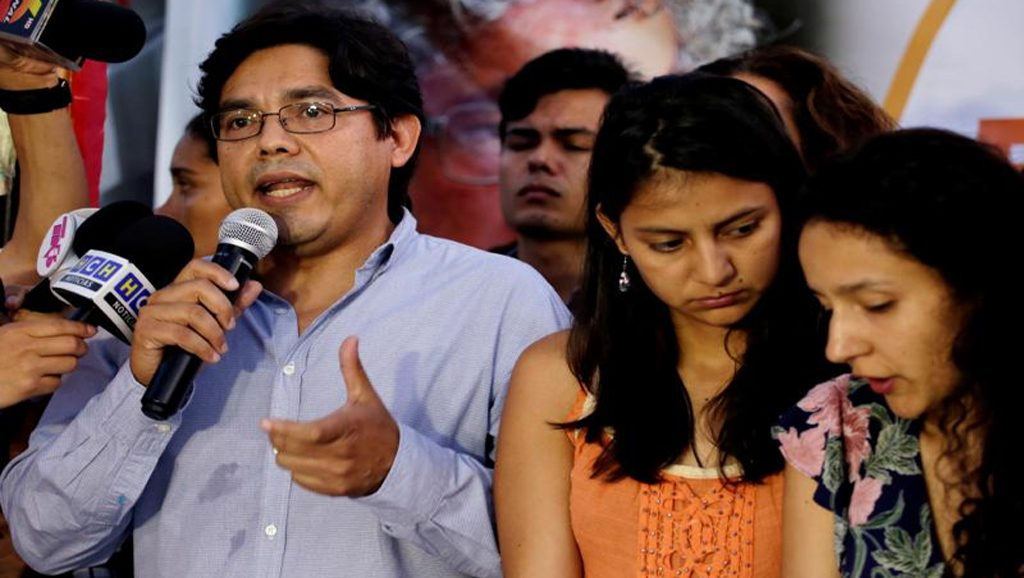 Berta Cáceres - Fuente foto web - Data Urgente