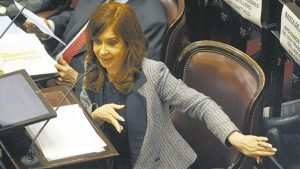 CFK - Procesamiento - Fuente foto Página 12 - Data Urgente