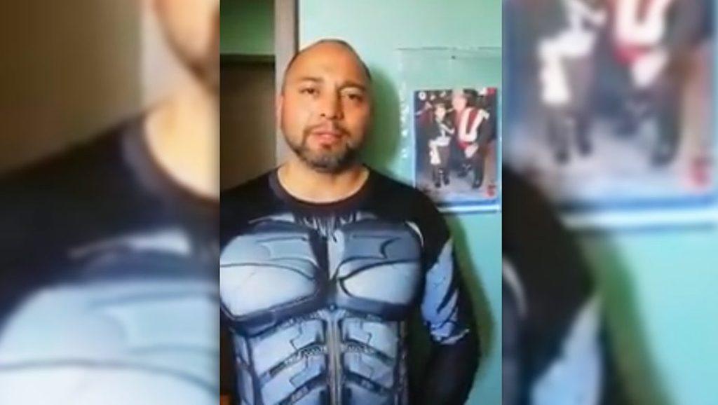 Carlos Alarcón - Carabinero - Fuente foto El Desconcierto - Data Urgente