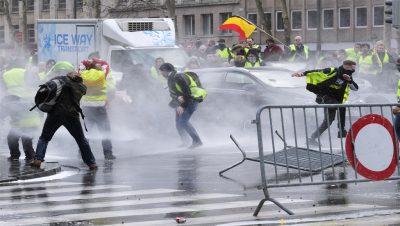 Chalecos amarillos - Europa - Fuente foto web - Data Urgente