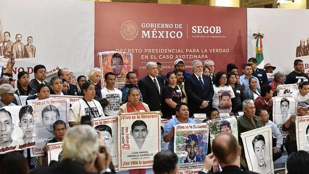 Comisión por la verdad - Ayotzinapa - Fuente web - Data Urgente