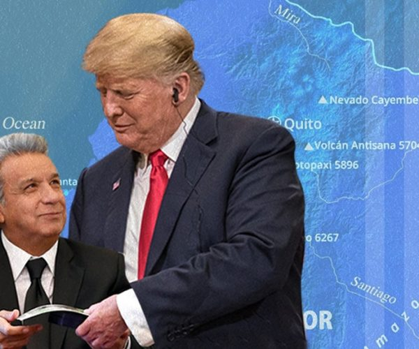 Ecuador - EEUU - Lenin - Trump