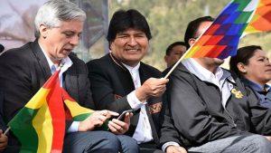 Evo Morales - Álvaro García Linera - Fuente foto web - Data Urgente