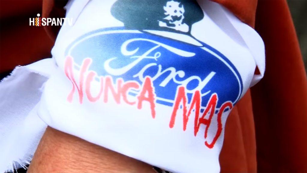 Ford - Nunca más - Fuente foto Hispan TV - Data Urgente