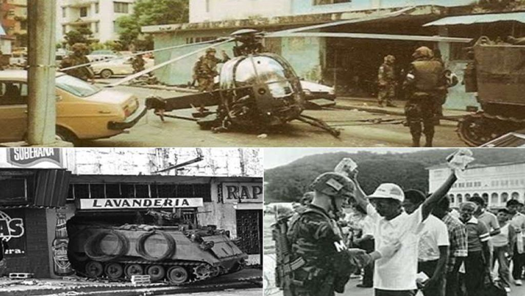 Invasión a Panamá - Fuente foto web - Data Urgente