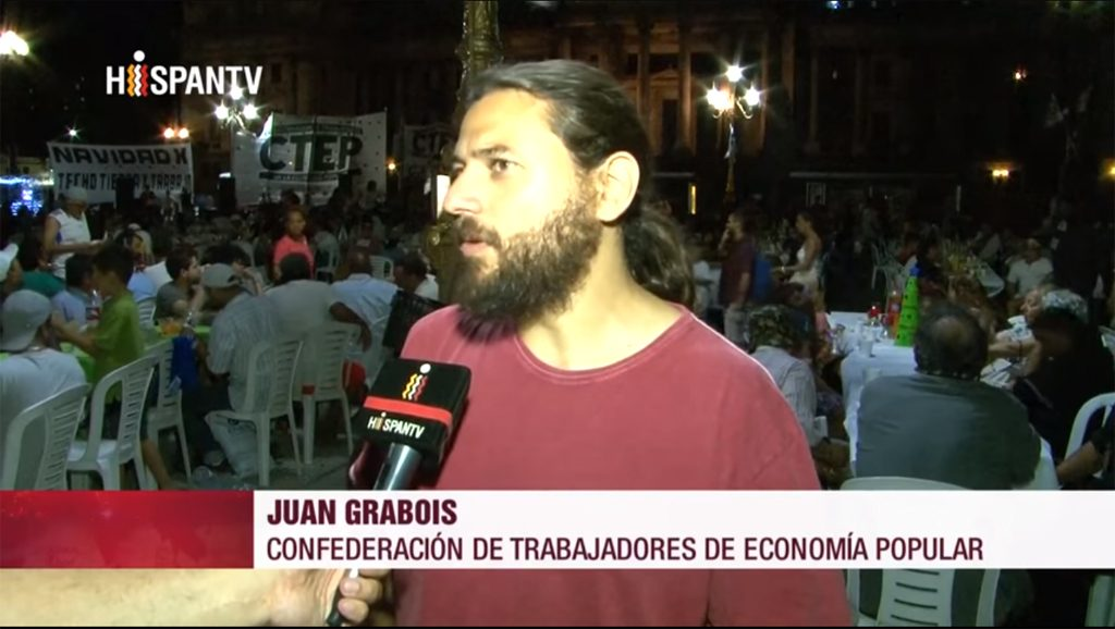 Juan Grabois - Hispan TV - Data Urgente