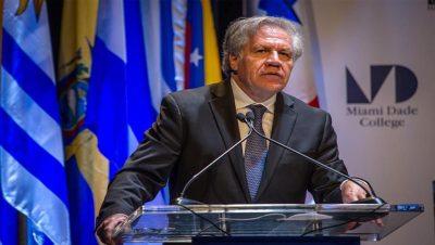 Luis Almagro - OEA - Fuente foto web - Data Urgente